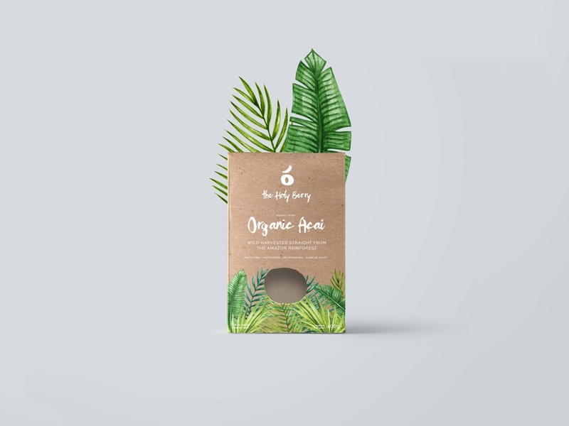Açai packaging