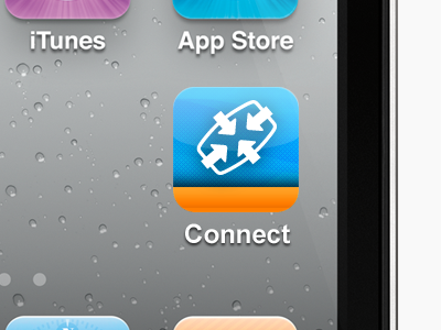 connect hd iphone app icon ios app icon app icon