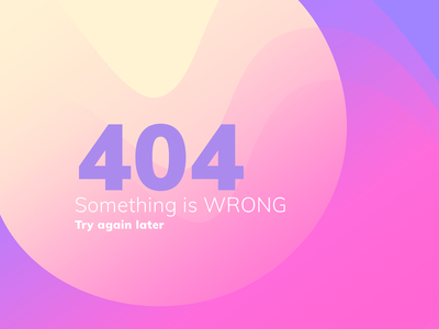 404 gradient page