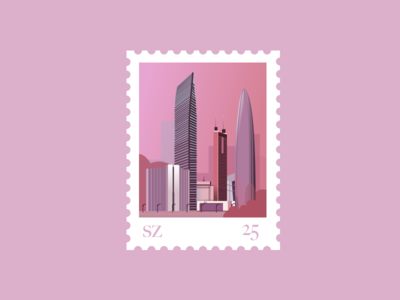 Stamp for Shenzhen
