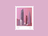 Stamp for Shenzhen