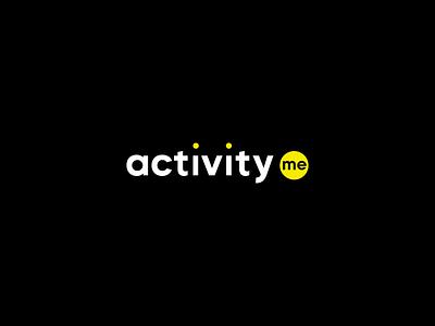 Activity.me – Logo Animation event running design app icon identity motion graphics motion design interaction logo animated logo animation