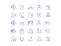 Transportation Icon Suite