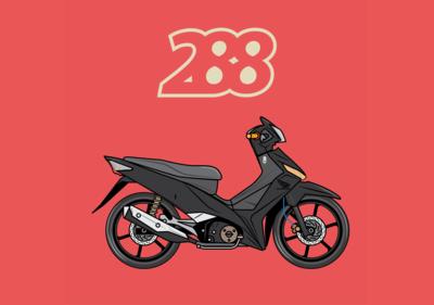 Serupa 288 - Moped