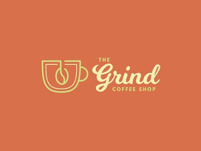 The Grind Coffee Shop Thirty Logos Day 02