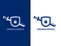 Sword & Shield Logo [Thirty Logos Day 12]