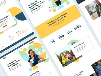Amazon Marketplace Website ecommerce ui design ui amazon fba amazon uidesign