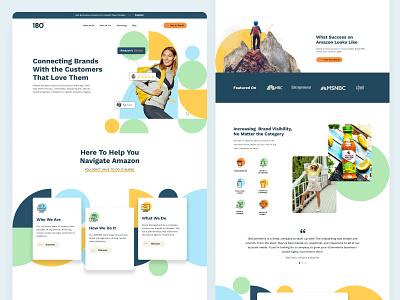 Amazon Marketplace Homepage landing page landingpage home page homepage web design ui uidesign amazon fba amazon