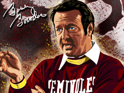 Bobby Bowden Illustration