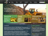 "Website for Sawn Timber Producer ""Holz"""