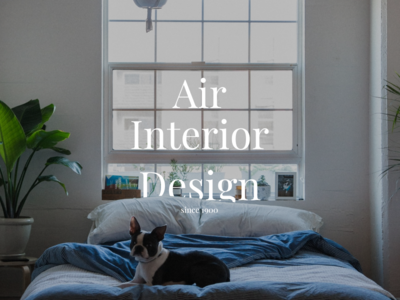 Air Interior Design figma principle illustrator photoshop interaction air interface interior app web flat vector ux ui sign design