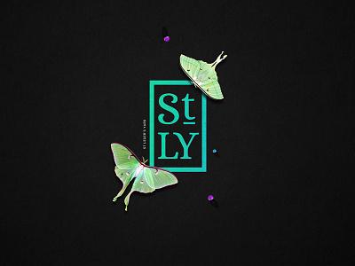 St Legers Yard Dribble web branding typography logo-lockup