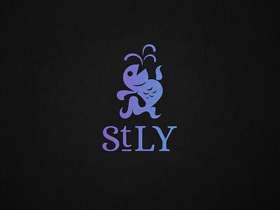St Legers Yard Logo Dribble illustration typography logo