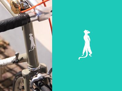 St Legers Yard Frame Bikes Dribble sticker vinyl visual identity branding logo illustration