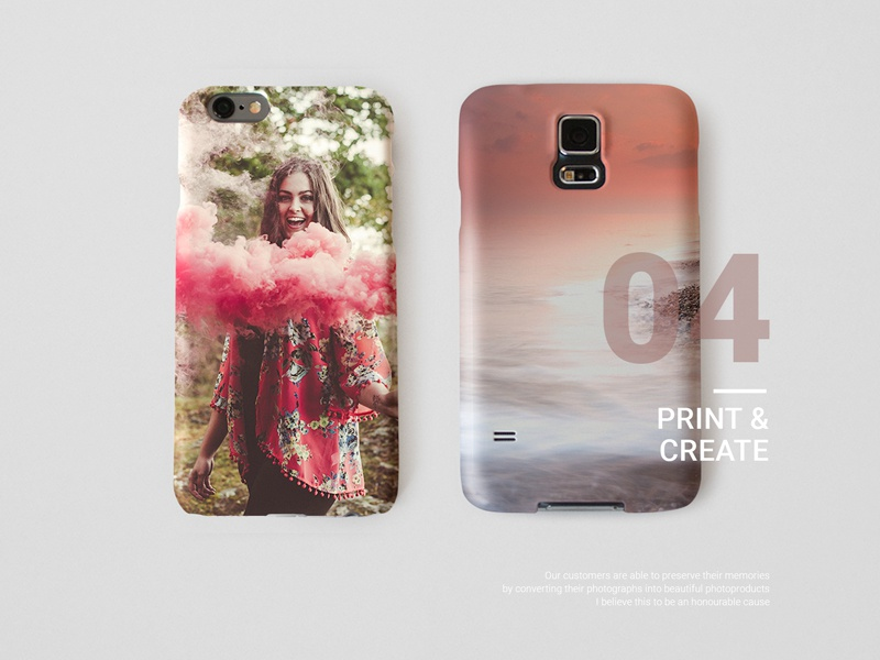 Catalog Phone Cases print digital art direction branding campaign product photography