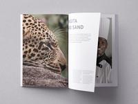 Singita Game Reserve A3 book