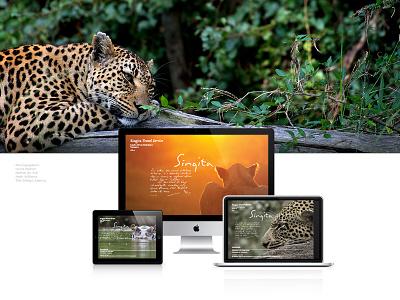 Singita Game Reserve graphic design nature conservation branding visual identity