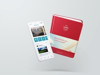 App & Boek Mock up