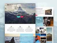 Mountain King Bootstrap Free Html Template