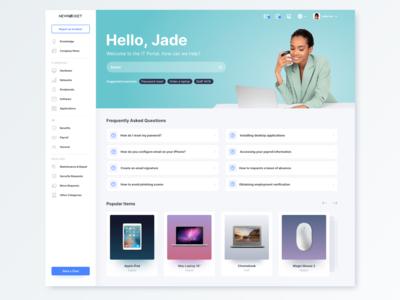 Employee Service Portal Theme