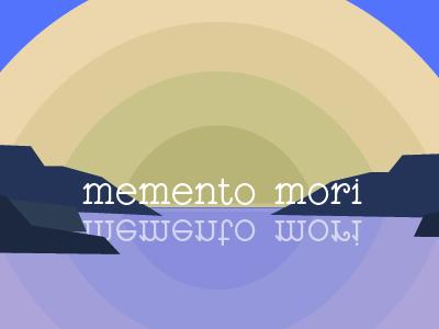 memento mori landscape