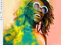 Photoshop's 30th Anniversary psd photoshop graphic design
