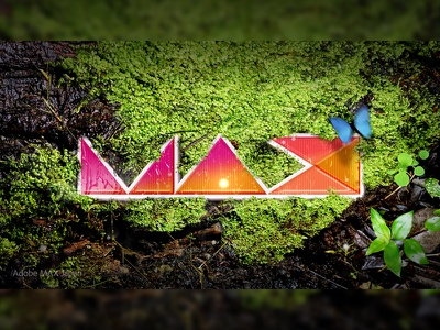 Adobe Max Challenge water forest adobe photoshop graphic design