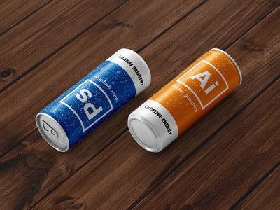 CC -Creative Can- package design graphic design