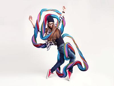 DANCE typography graphic design dance