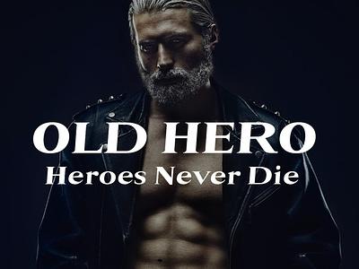 OLD HERO - FREE FONT free font freefont graphic logo typography