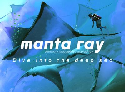 MANTA RAY - FREE FONT