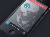 Travel App Trail Page