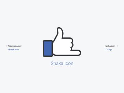Facebook Shaka Icon Asset