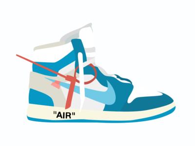 Retro Off-White x Nike Collab