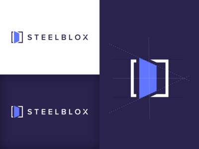SteelBlox - Logo Mark