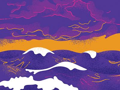 Water atmosphere ocean illustration