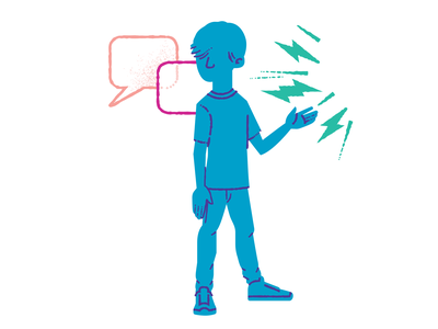 noise illustration influences hearing person
