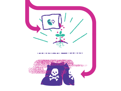 experiments illustration poison fertilizer