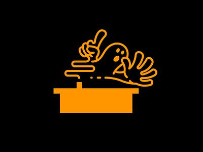 6 halloween branding illustration logo