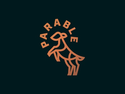 Running of the Lambs parable branding icon lamb