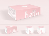 Hello Cupcake Packaging