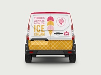 Ice Cream Social Van Wrap