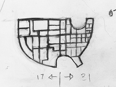 rough sketch for a simple abstract usa map minus alaska hawaii sorry hoping this turns out