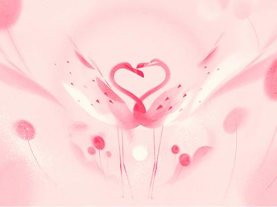 CNN - Pink flamingos animation pink motion graphics motion design color cnn