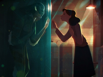 The Shape of Water short animation movie design light character illustration movies film