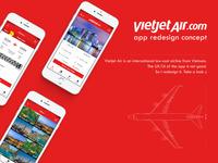Vietjet Air App UX/UI Redesign