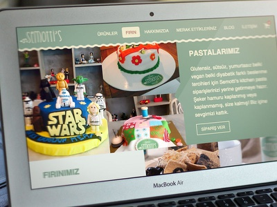 Semotti's Kitchen - Bakery glutenfree foods e-commerce desktop ux ui web bakery