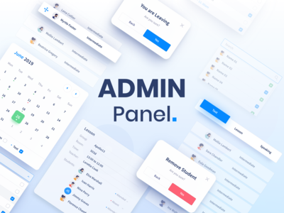 Admin Panel for English Classes