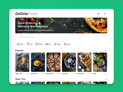 Online Food Delivery Service