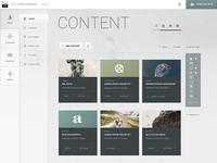 2.0 Content List (Large Grid) Polar Theme